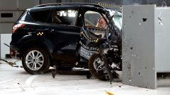 Ford Escape 2018: il crash test con impatto lievemente disassato