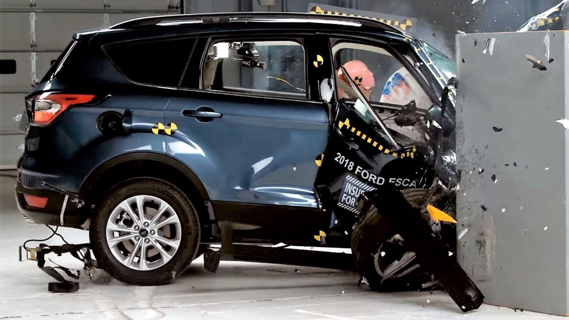 Ford Escape 2018, versione USA della Ford Kuga, fallisce ...