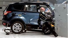 Ford Escape 2018: il crash test della IIHS visto dal lato destro