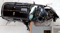 Ford Escape 2018: il crash test della IIHS visto dall'alto