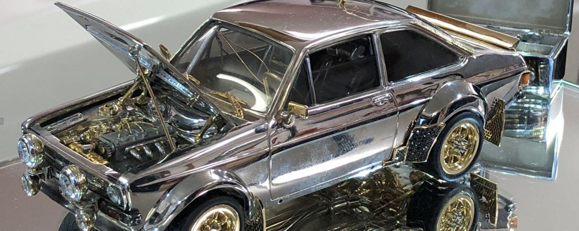 Ford Escort: all'asta un modellino da 90 mila euro. Il video