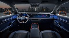 Ford Evos, gli interni digitali