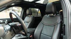 Ford Explorer PHEV ST line 2020: i sedili anteriori