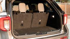 Ford Explorer PHEV ST line 2020: i sedili della terza fila in posizione