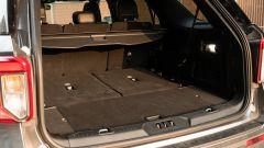 Ford Explorer PHEV ST line 2020: il bagagliaio in configurazione 5 posti