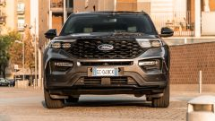 Ford Explorer PHEV ST line 2020: il frontale
