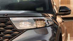 Ford Explorer PHEV ST line 2020: il gruppo ottico anteriore