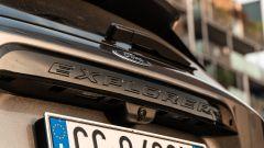 Ford Explorer PHEV ST line 2020: il nome del modello sul portellone