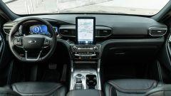 Ford Explorer PHEV ST line 2020: la plancia