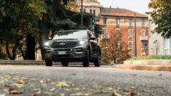 Ford Explorer PHEV ST line 2020: un momento del test drive