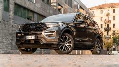 Ford Explorer PHEV ST line 2020: vista 3/4 anteriore