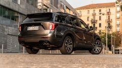 Ford Explorer PHEV ST line 2020: vista 3/4 posteriore