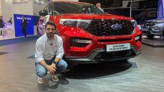 Ford Explorer plug-in hybrid in video da Francoforte 2019 - Immagine: 2