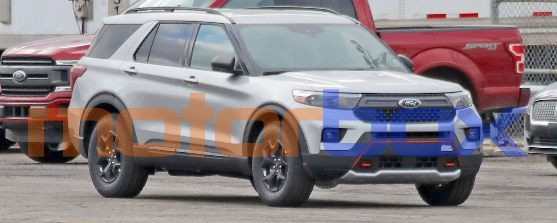 Ford Explorer Timberline, le foto spia