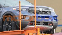 Ford Explorer Timberline, particolare del frontale