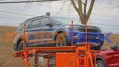 Ford Explorer Timberline, visuale di 3/4 anteriore