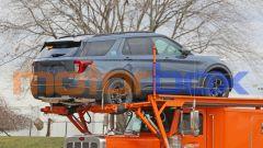 Ford Explorer Timberline, visuale di 3/4 posteriore