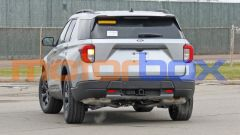Ford Explorer Timberline, visuale posteriore