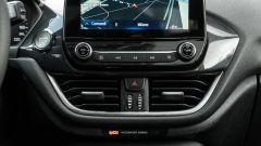 Ford Fiesta 1.0 Ecoboost Hybrid 125 CV ST-Line, bocchette di ventilazione a centro plancia