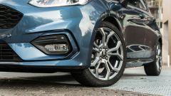 Ford Fiesta 1.0 Ecoboost Hybrid 125 CV ST-Line, dettaglio del fascione