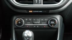 Ford Fiesta 1.0 Ecoboost Hybrid 125 CV ST-Line, i comandi del climatizzatore