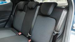 Ford Fiesta 1.0 Ecoboost Hybrid 125 CV ST-Line, i sedili posteriori