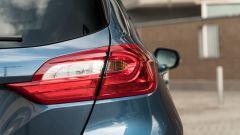 Ford Fiesta 1.0 Ecoboost Hybrid 125 CV ST-Line, il gruppo ottico posteriore