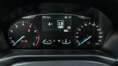 Ford Fiesta 1.0 Ecoboost Hybrid 125 CV ST-Line, il quadro strumenti