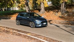 Ford Fiesta 1.0 Ecoboost Hybrid 125 CV ST-Line, un momento del test drive
