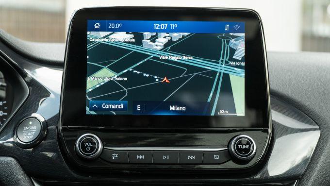 Ford Fiesta: addio sistema infotainment Sync, dal 2023 arriva Android Automotive