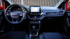 Ford Fiesta, gli interni