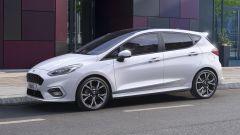 Ford Fiesta Mild-Hybrid: vista laterale