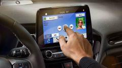 Ford Fiesta Titanium, l'infotainment