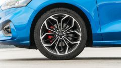 Ford Focus 1.0 EcoBoost Hybrid ST Line X, i cerchi da 18 pollici