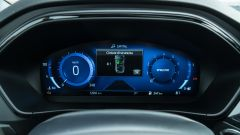 Ford Focus 1.0 EcoBoost Hybrid ST Line X, il quadro strumenti