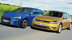 Ford Focus e Volkswagen Golf, presto parenti