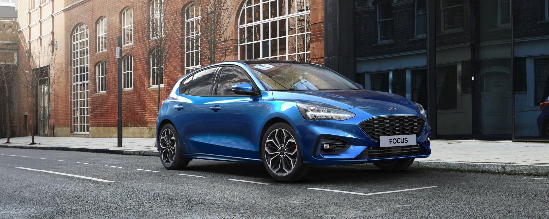 Ford Focus EcoBoost Hybrid: presentata la media ibrida