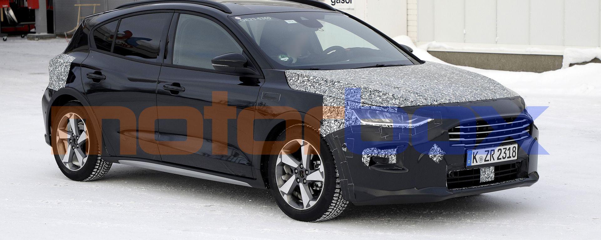 Ford Focus facelift, le nostre foto spia
