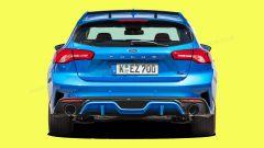 Ford Focus RS 2021: la coda potrebbe avere questo design