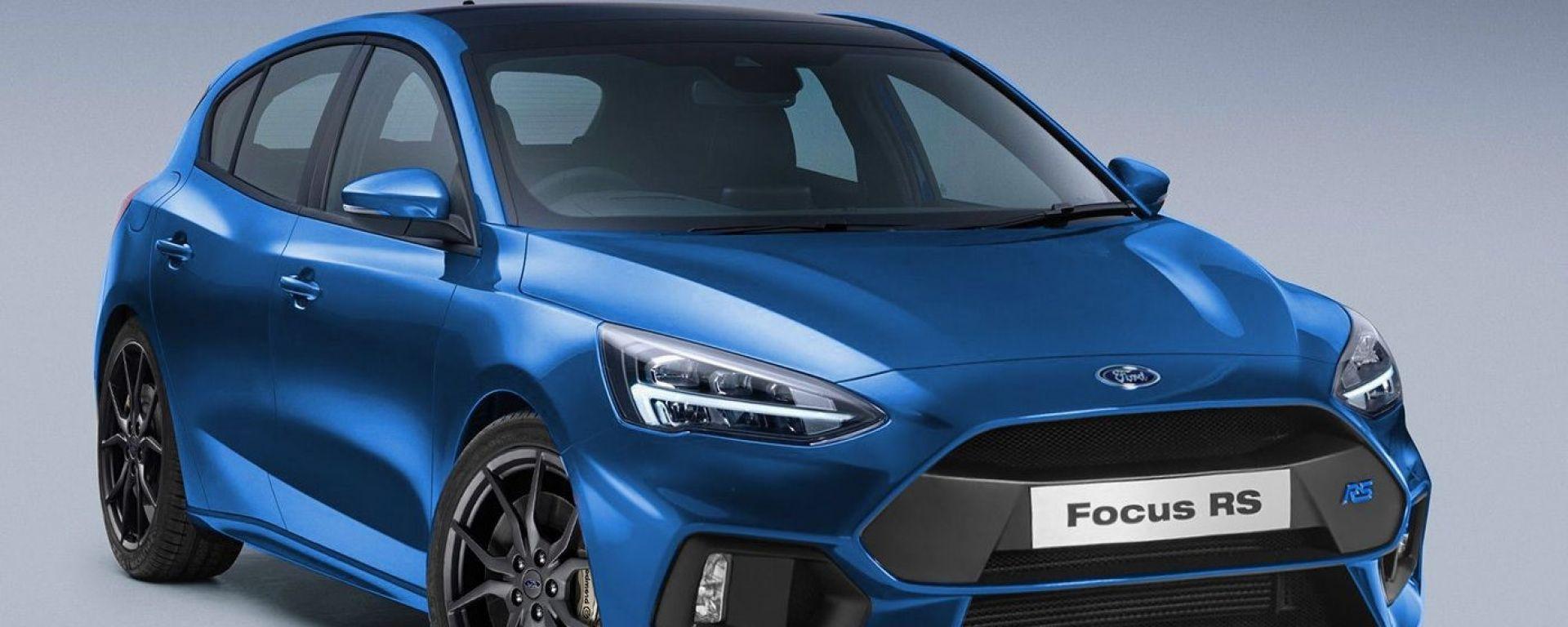 Ford Focus RS 2021: motore ibrido, 4 WD e oltre 400 CV. Sarà fatta così?