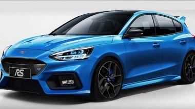 Ford Focus RS 2021: motore mild hybrid da 406 CV e look sportivissimo