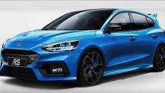 Ford Focus RS 2021: un'altra ipotesi di stile della sportiva di Ford