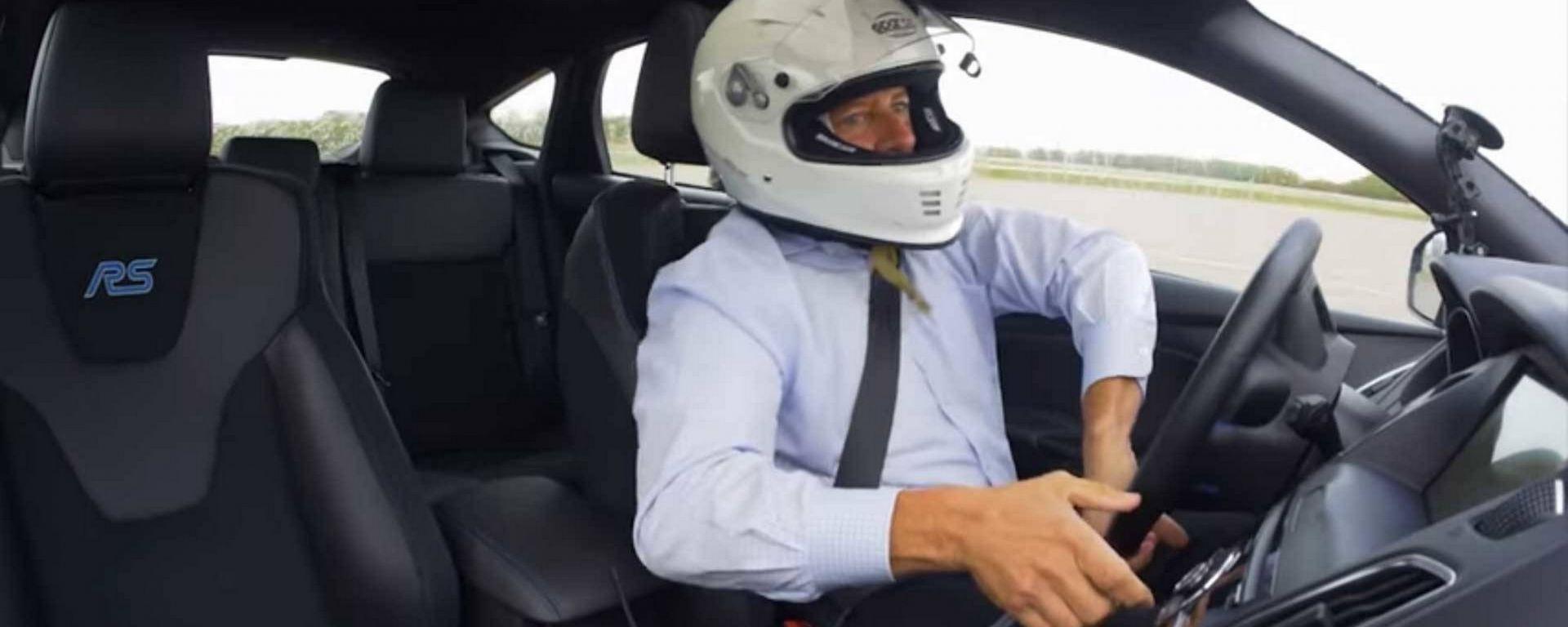 Ford Focus RS: la prova del Drift Stick [VIDEO]