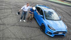 Ford Focus RS: in pista con 350 cv (e uno strano ospite) - Immagine: 54