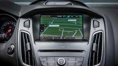 Ford Focus RS: lo schermo touch del sistema di infotainment Sync 3