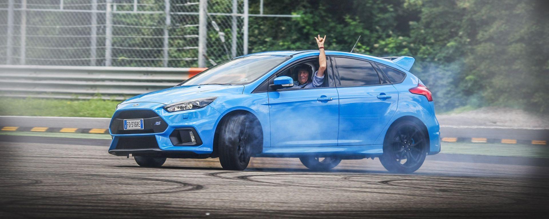 Ford Focus RS: luna park grazie al drift mode