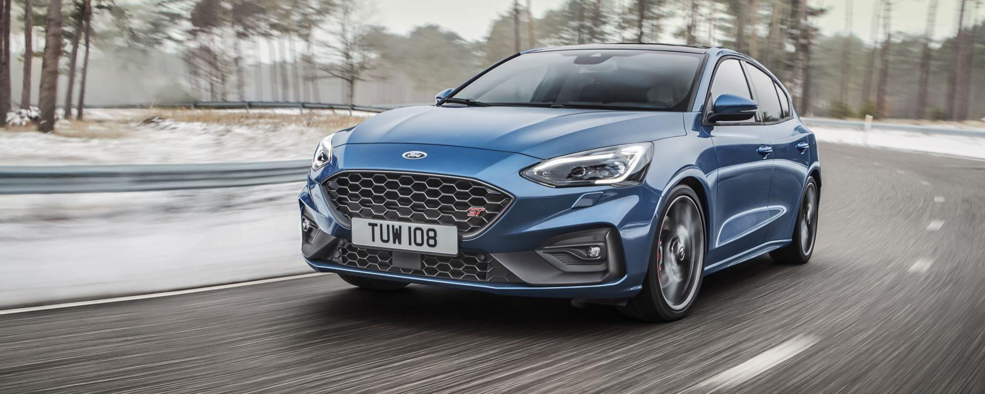 Ford Focus ST 2019: foto, prezzo, motore, cavalli