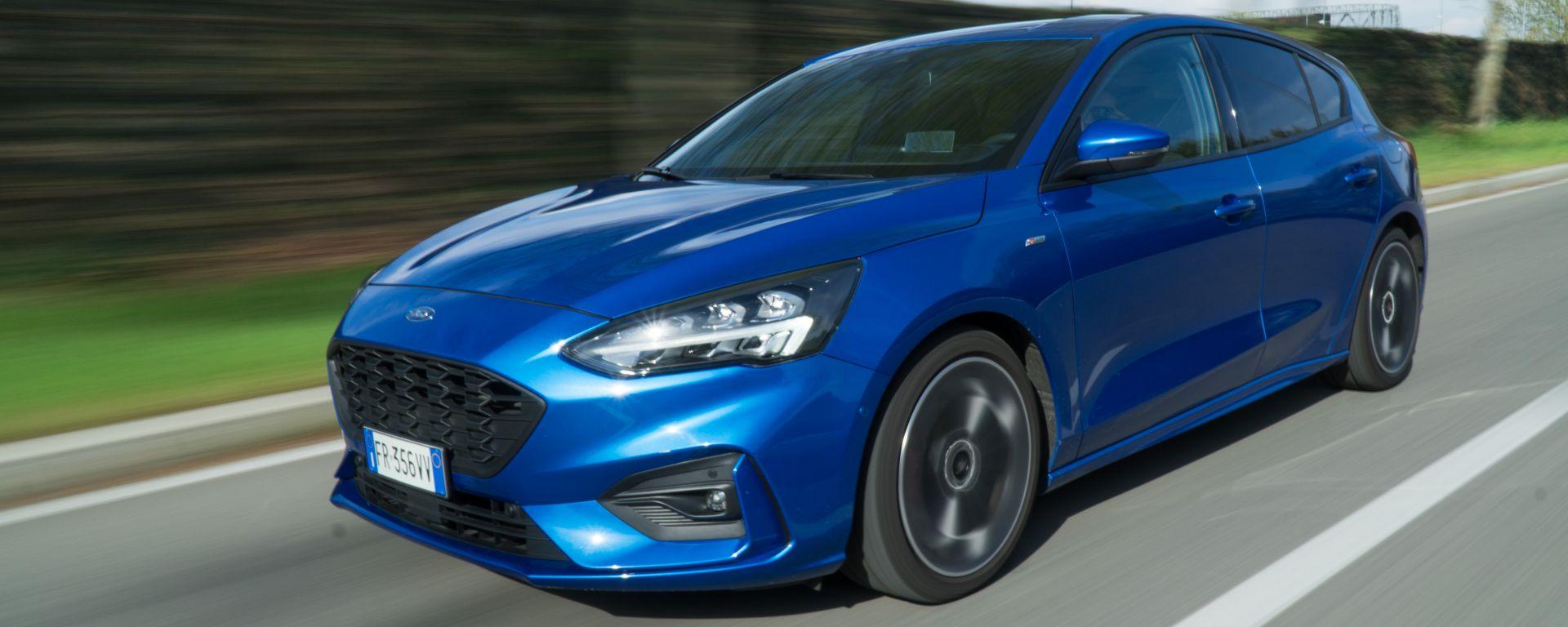 Ford Focus ST-Line 1.5 EcoBlue: linea sportiva, spazio e guida divertente