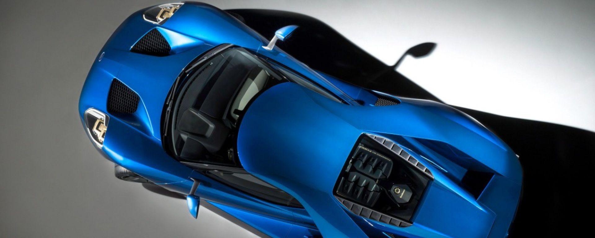 Ford: parabrezza Gorilla Glass per la GT