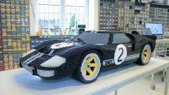 Ford GT 40: alla 24 Ore di Le Mans verrà esposto anche un modellino Lego del modello che vinse nel '66